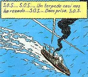 """Stock de Coque. El """"Ramona"""" es torpedeado (www.editorialjuventud.es)"""