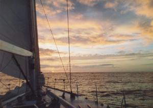 Navegar en Invierno-Sotavento