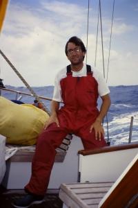Cruzando el Atlántico en Abril de 2003